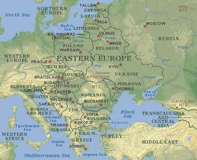 Eastern Europe | History at Illinois